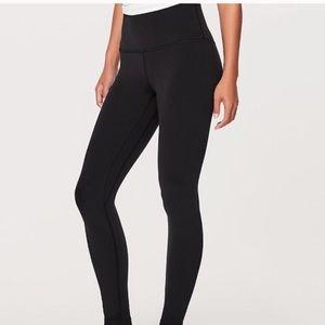 Super high waisted Lululemon leggings